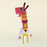 Pferd-Mime